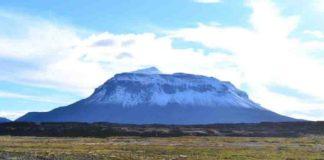 Herðubreið Volcano in Iceland