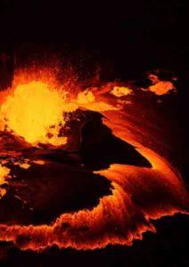 Kilauea eruption, 2018.