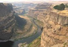 Palouse Falls State Park in Washington