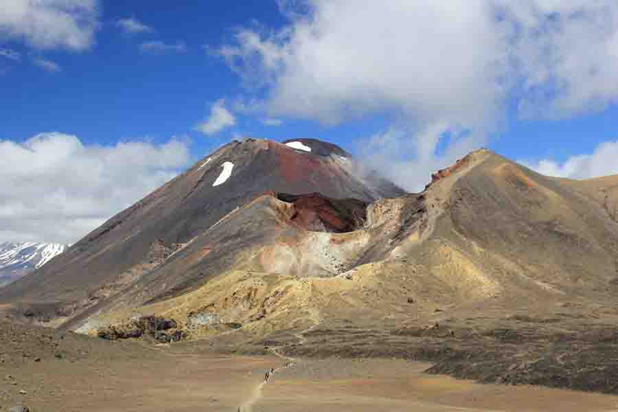 How Magma Climbs the Crustal Ladder Between Eruptions