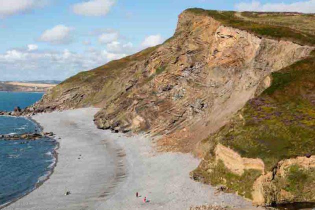 Millook Haven Beach, England