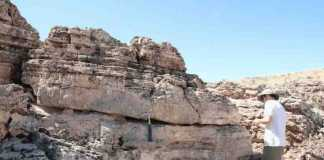 Carbon dioxide emissions can be securely stored in underground rocks, with minimal possibility of the gas escaping from fault lines back into the atmosphere, research by the University of Edinburgh has shown. Credit: Johannes Miocic