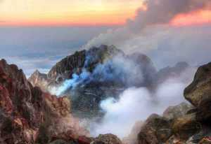 Findings about the effect of a volcano's age on its likelihood to erupt will be applied to the Merapi volcano in Indonesia, among others.