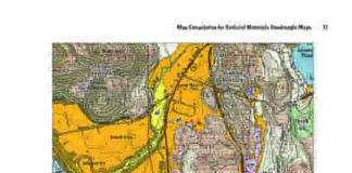 Massachusetts State Geologist Stephen Mabee and colleagues recently annoucned that newly digitized surficial geology maps of the entire state are available online now. They provide details of what Mabee calls the 'kitty litter' mix of glacial tills, various sands and gravels on the earth's surface. Credit: USGS/MassGIS