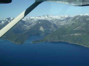 This is Emerald Bay, Lake Tahoe, USA. Credit: R.A. Schweickert et al.