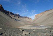Don Juan Pond in Antarctica
