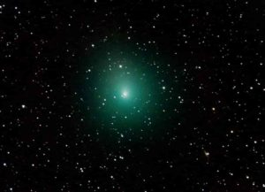 The comet 46P/Wirtanen on January 3, 2019.