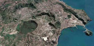 Multiple volcanic craters cover the 'Campi Flegrei' near Naples, Italy. A new method aims at forecasting where new vents will occur.