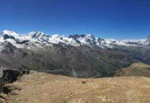 Zermatt in the Western Alps.