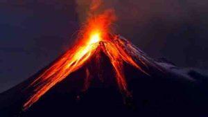 Volcano magma chamber. Credit: Cardiff University