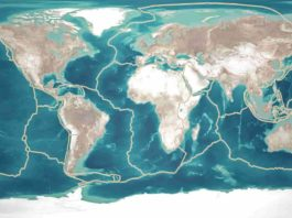 Continents breaking up and getting back together. Image credit: Naeblys / Getty Images