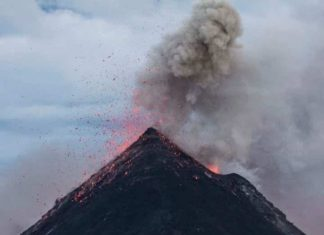 Volcano: UH geologists have discovered 10 million years of silence in a chain of volcanoes between Northeast Asia and Russia.