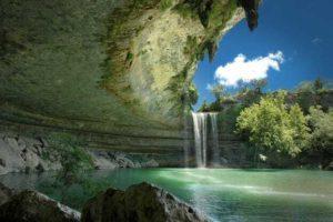 Hamilton Pool, Texas. Flickr: dawilson / Creative Commons