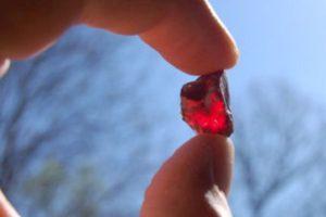 Garnet. Credit: Cherokee Ruby Mine