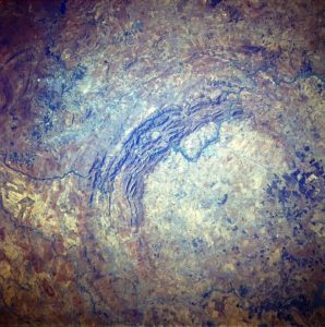 Vredefort Dome, Free State, South Africa. Credit: NASA