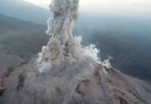 Picture of the Santa Maria volcano in Guatemala. Credit: Zorn et al. 2020, Nature