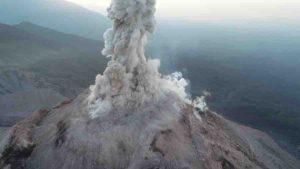 Picture of the Santa Maria volcano in Guatemala. Credit: Zorn et al. 2020, Nature