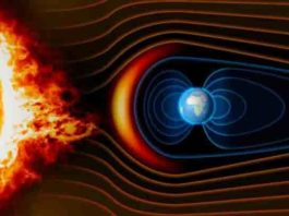 Earth magnetic field. Credit: Carnegie Institution for Science