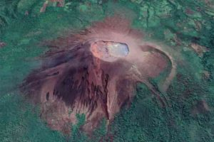 A team of Penn State researchers studied Telica Volcano, a persistently active volcano in western Nicaragua, to both observe and quantify small-scale intra-crater change associated with background and eruptive activity. IMAGE: Google Earth