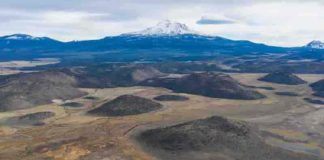 Northern California's Mount Shasta is among the largest and most active volcanoes in the Cascade Range.
