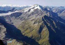 Central Alps of Switzerland