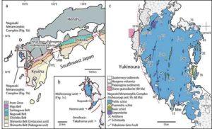 Location and geological map of Yukinoura district, Saikai City, Nagasaki Prefecture, Japan. Credit: Professor Tadao Nishiyama