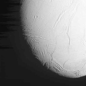 Saturn's icy