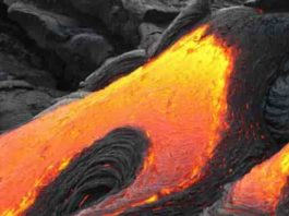 "Representative Image : Lava ""Volcanic Eruption"""