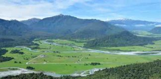 Looking at the Toaroha River, near New Zealand's Alpine Fault. | GNS Science