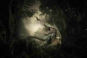 The asteroid impact led to the extinction of 75% of life, including all non-avian dinosaurs. Credit: Willgard Krause/Pixabay.