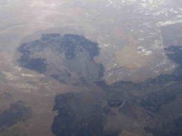 The Cinders lava flow Utah