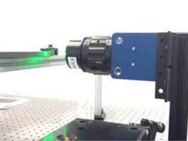 Experimental setup for 3D seismic model.