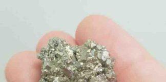 Gold in pyrite
