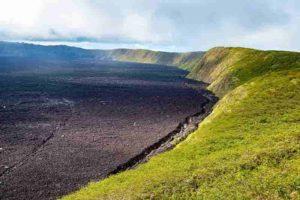 Nierra Negra Volcano on the Galapagos Islands