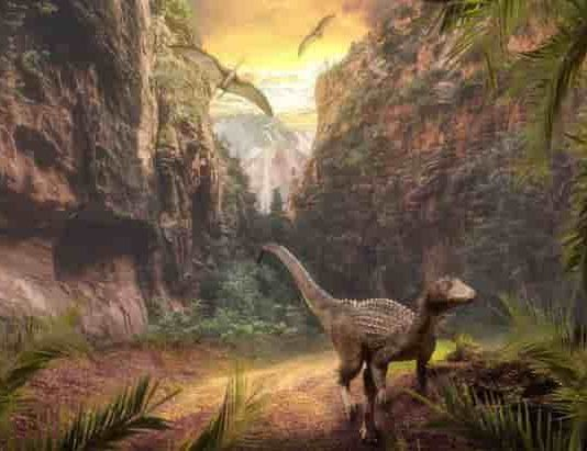 Ecological changes following intense volcanic activity 230 million years ago paved the way for dinosaur dominance